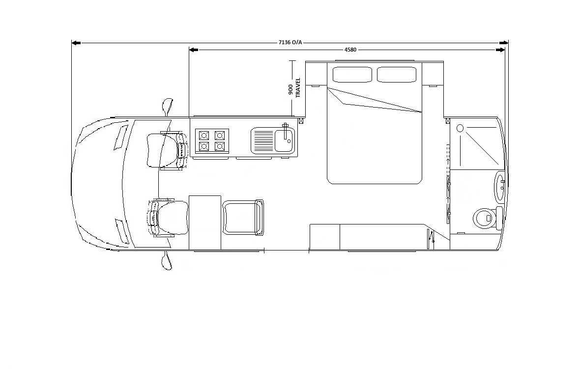 I RV Iveco Daily 42154 i rv : Iveco 4x4 Layout Dbl Bed slide out web from www.i-rv.com.au size 1178 x 790 jpeg 106kB